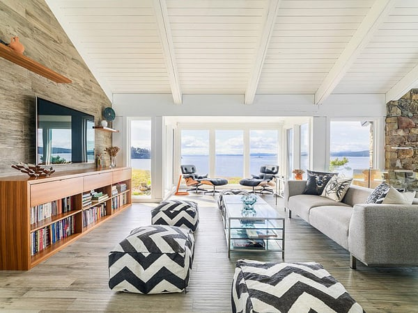 featured posts image for Mid-century modern beach house retreat on Pender Island