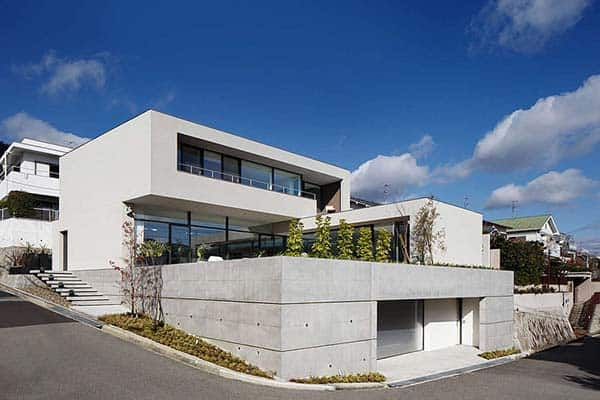 featured posts image for Modern concrete and steel dwelling in Japan by So1architect