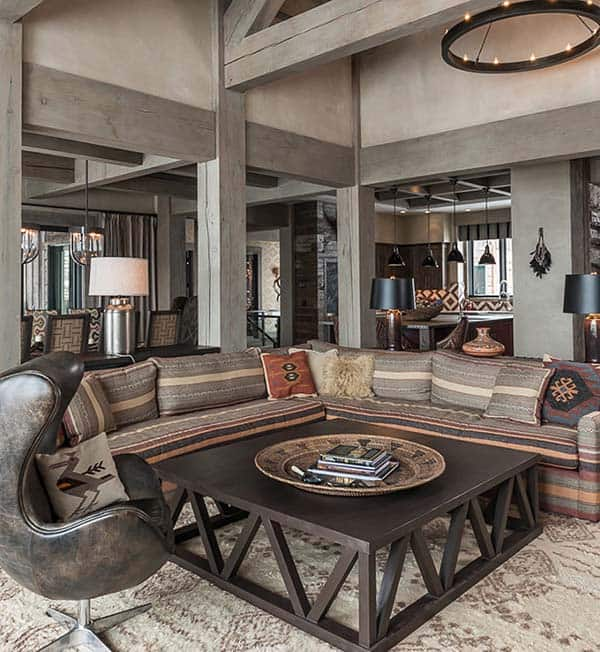 featured posts image for Sumptuous Montana retreat featuring cozy rustic-modern