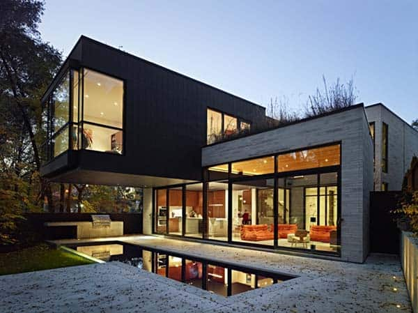 Cedarvale Ravine House-Drew Mandel Architects-01-1 Kindesign