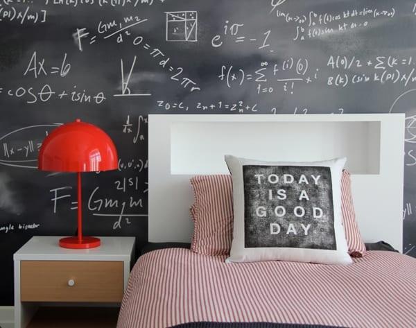 Chalkboard Headboard Ideas-14-1 Kindesign