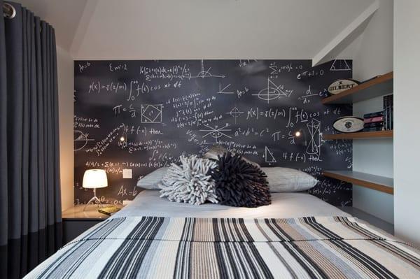 Chalkboard Headboard Ideas-20-1 Kindesign