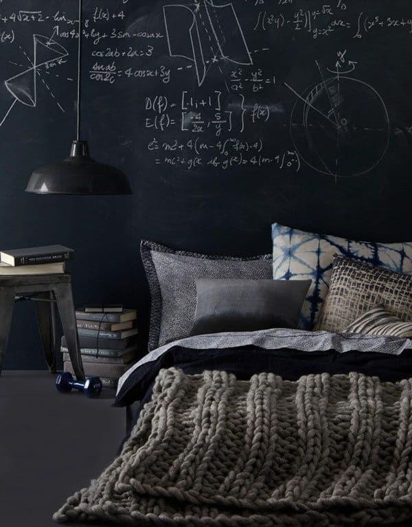 Chalkboard Headboard Ideas-27-1 Kindesign