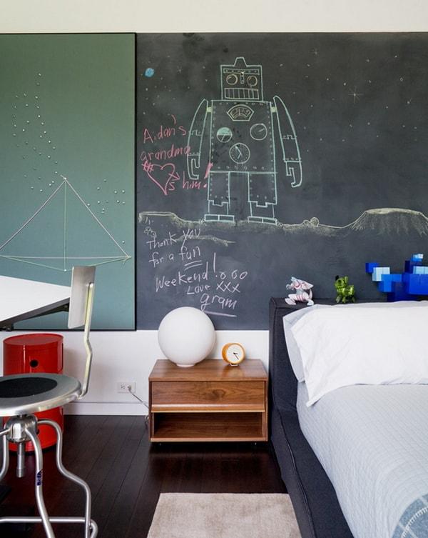 Chalkboard Headboard Ideas-38-1 Kindesign