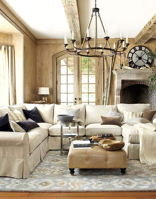 35 super stylish and inspiring neutral living room designs for Neutral living room ideas