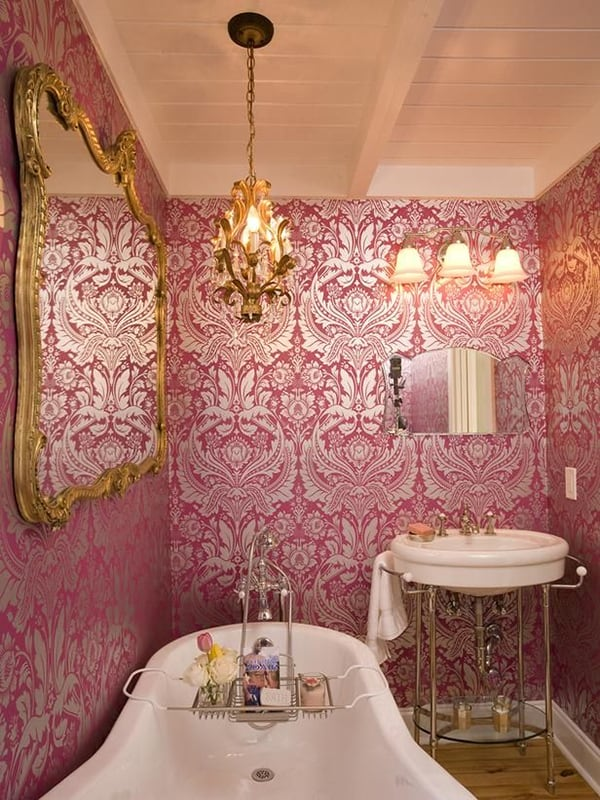 romantic bathroom decorating ideas romantic bathrooms 17 1 kindesign 5834