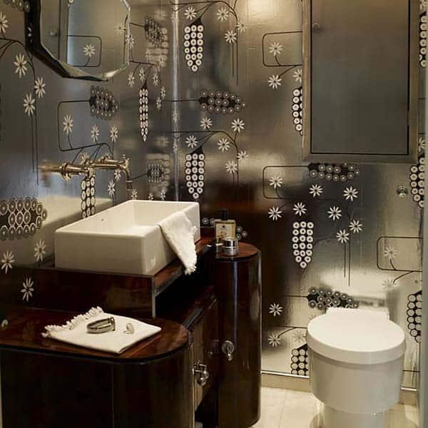 Dark and Moody Bathrooms-18-1 Kindesign