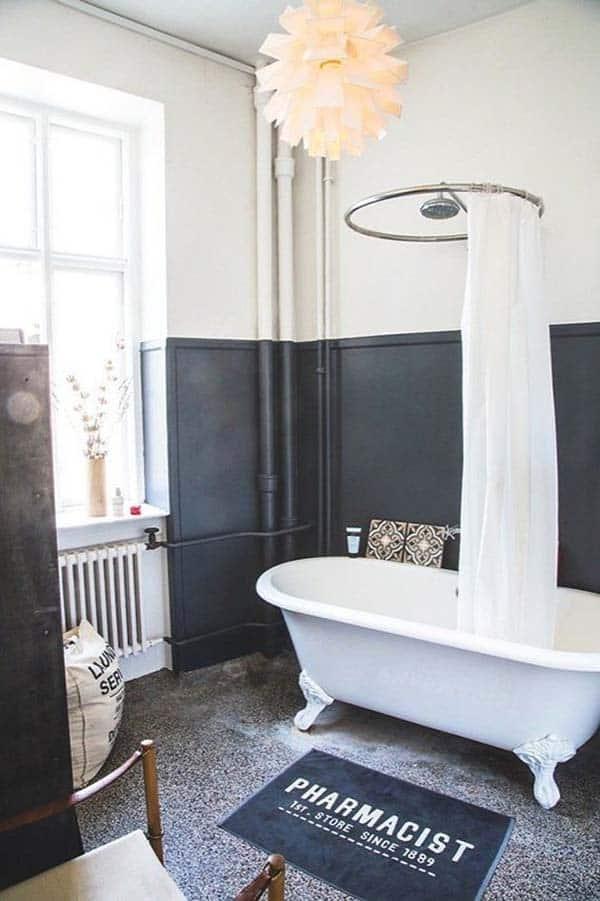Dark and Moody Bathrooms-20-1 Kindesign