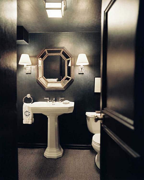 Dark and Moody Bathrooms-22-1 Kindesign