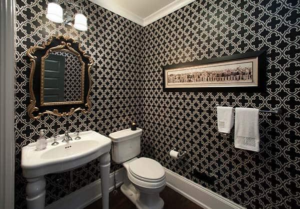 Dark and Moody Bathrooms-25-1 Kindesign