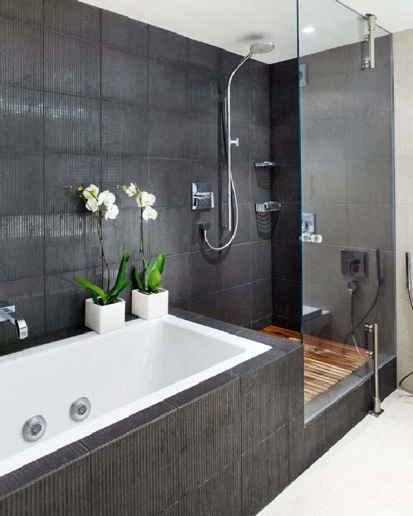 Dark and Moody Bathrooms-27-1 Kindesign