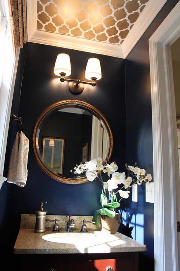 Dark and Moody Bathrooms-31-1 Kindesign