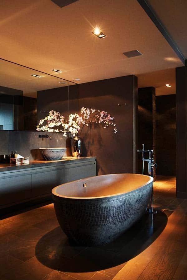 Dark and Moody Bathrooms-34-1 Kindesign