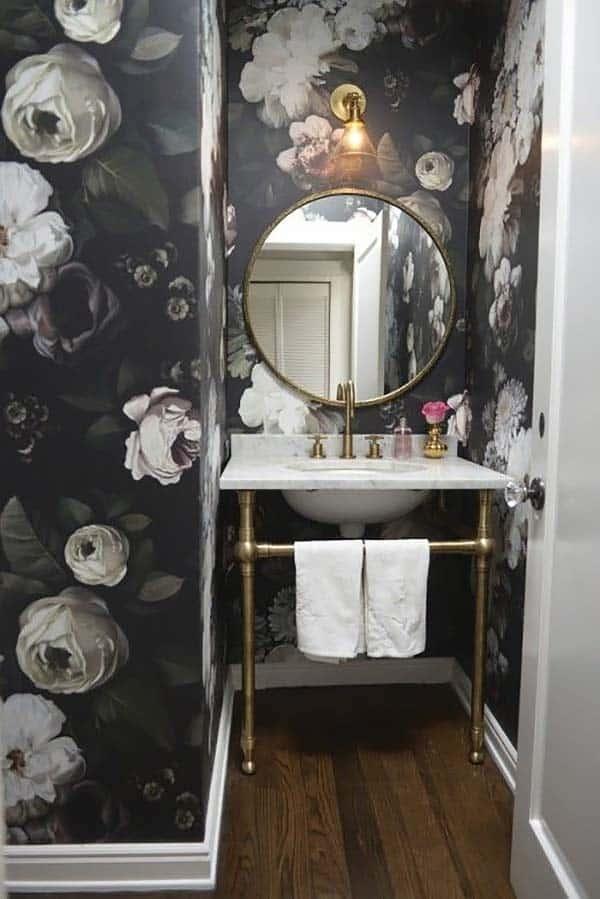 Dark and Moody Bathrooms-39-1 Kindesign
