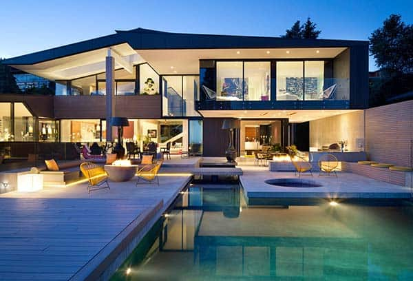 featured posts image for Groveland House displaying sophisticated interiors in West Vancouver