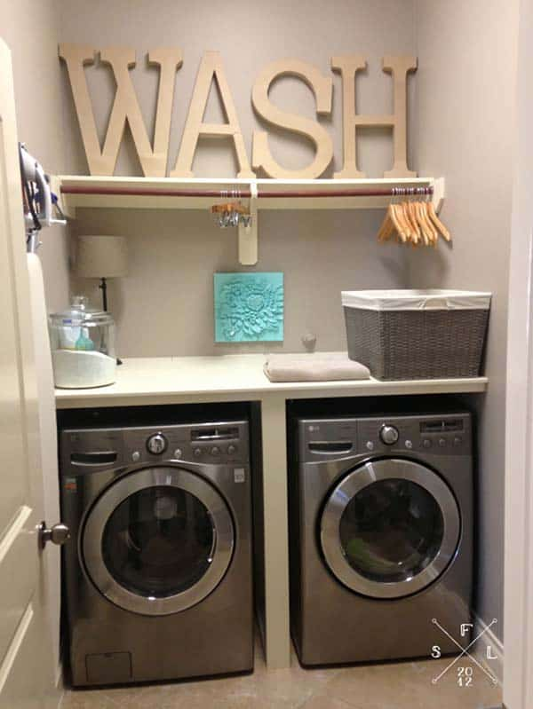 featured posts image for 60 Amazingly inspiring small laundry room design ideas