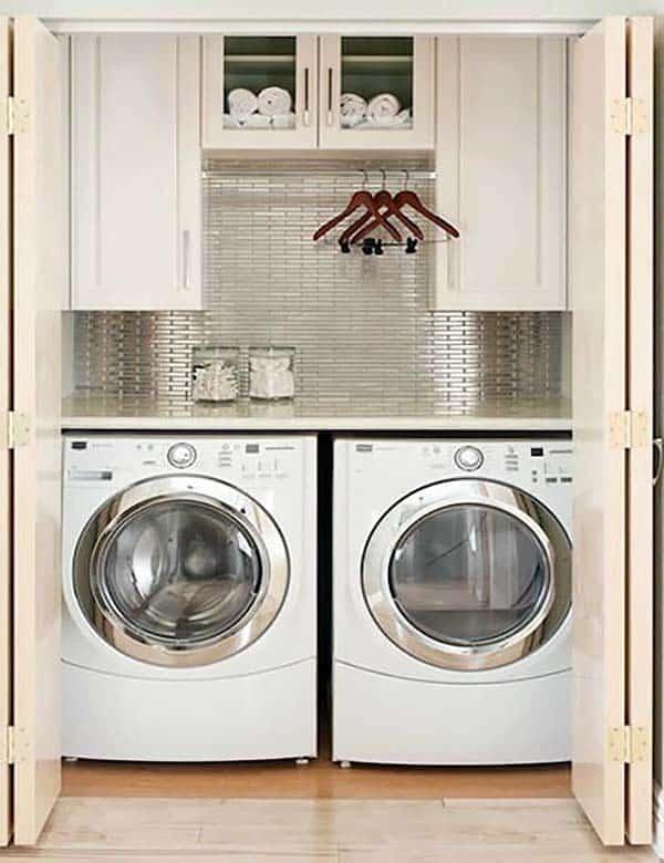 60 Amazingly inspiring small laundry room design ideas on Small Laundry Ideas  id=47154