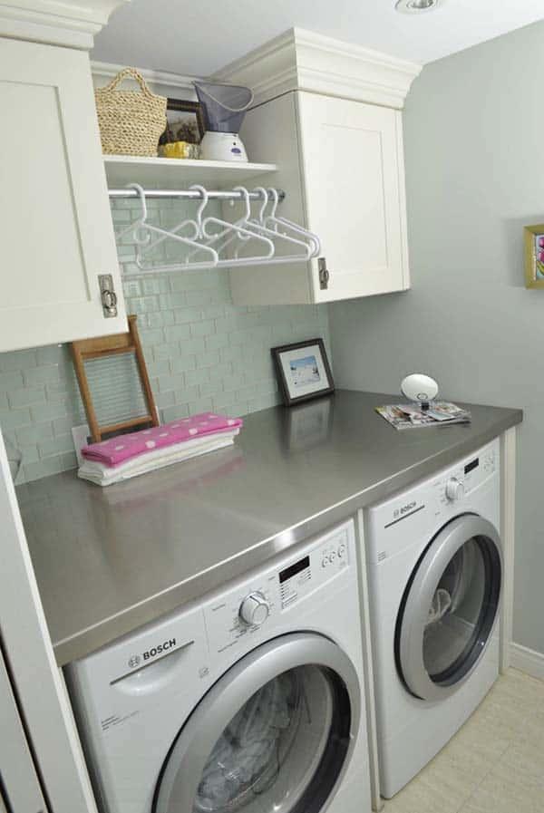 Small Laundry Room Design Ideas-30-1 Kindesign