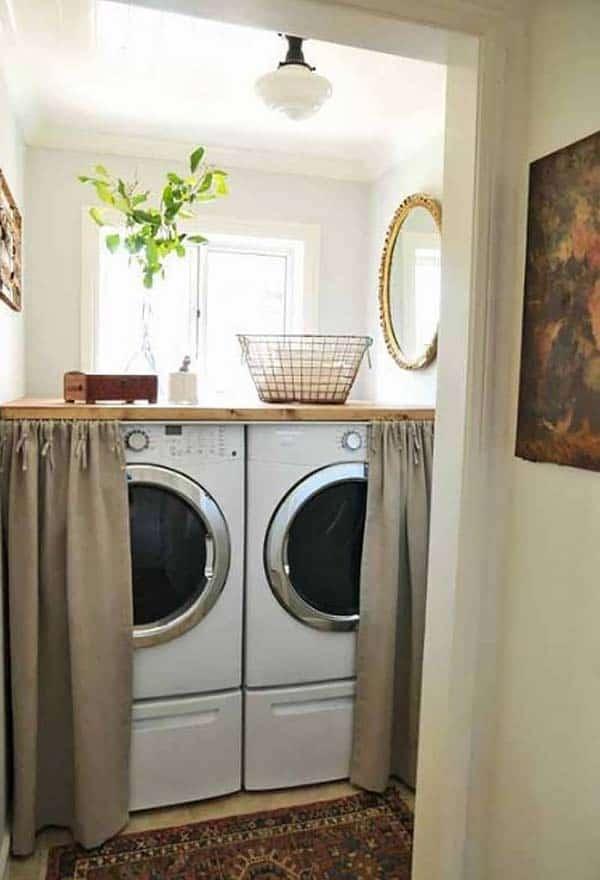 Small Laundry Room Design Ideas-34-1 Kindesign