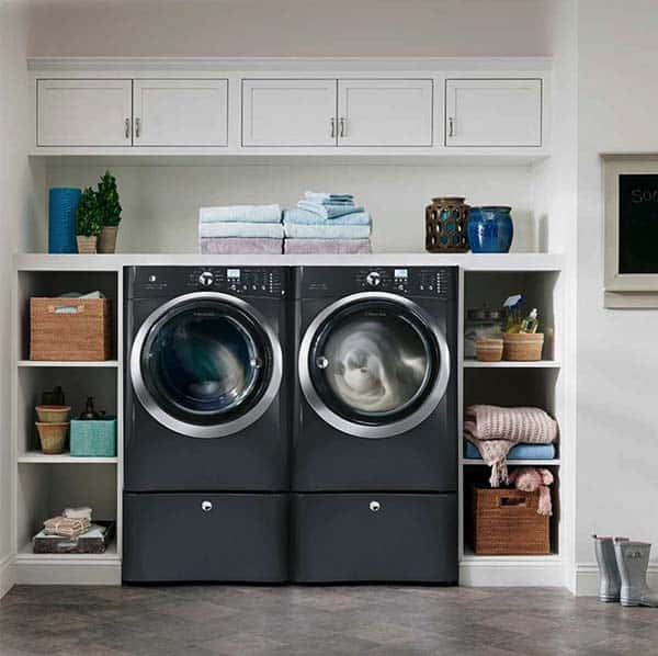 60 Amazingly inspiring small laundry room design ideas on Small Laundry Ideas  id=43781