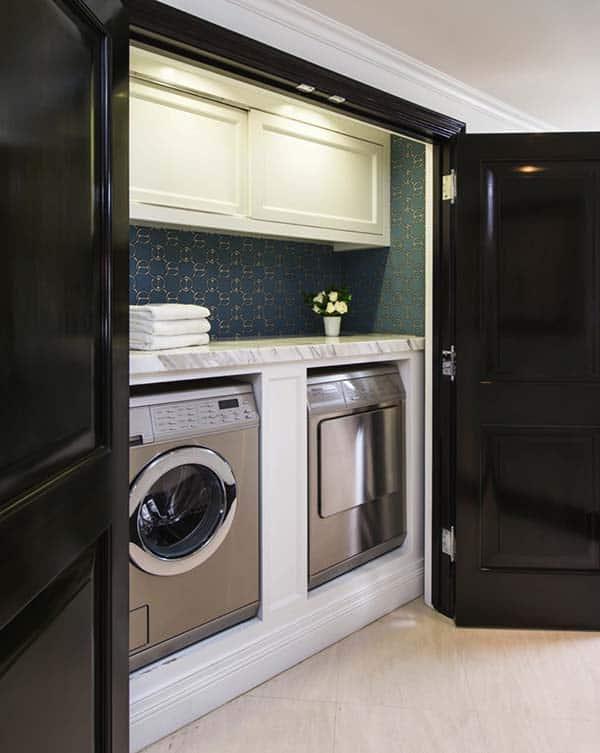 60 Amazingly inspiring small laundry room design ideas on Small Laundry Ideas  id=58930