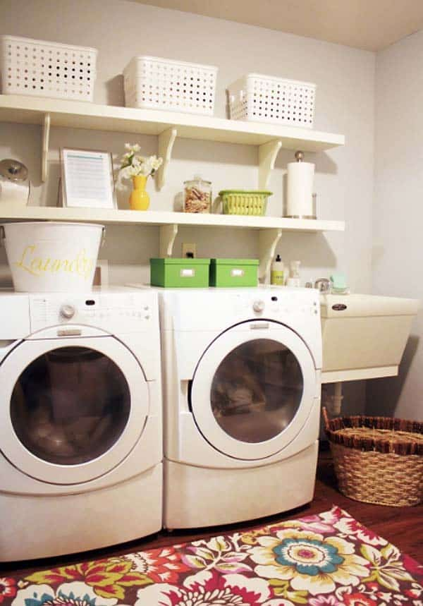 Small Laundry Room Design Ideas-42-1 Kindesign