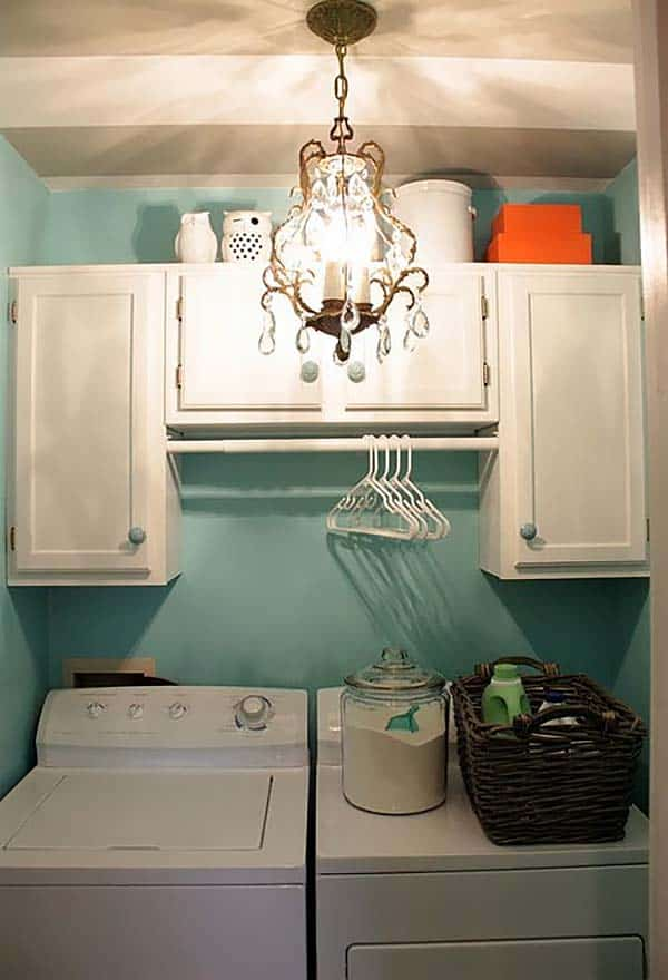 60 Amazingly inspiring small laundry room design ideas on Small Laundry Ideas  id=80242