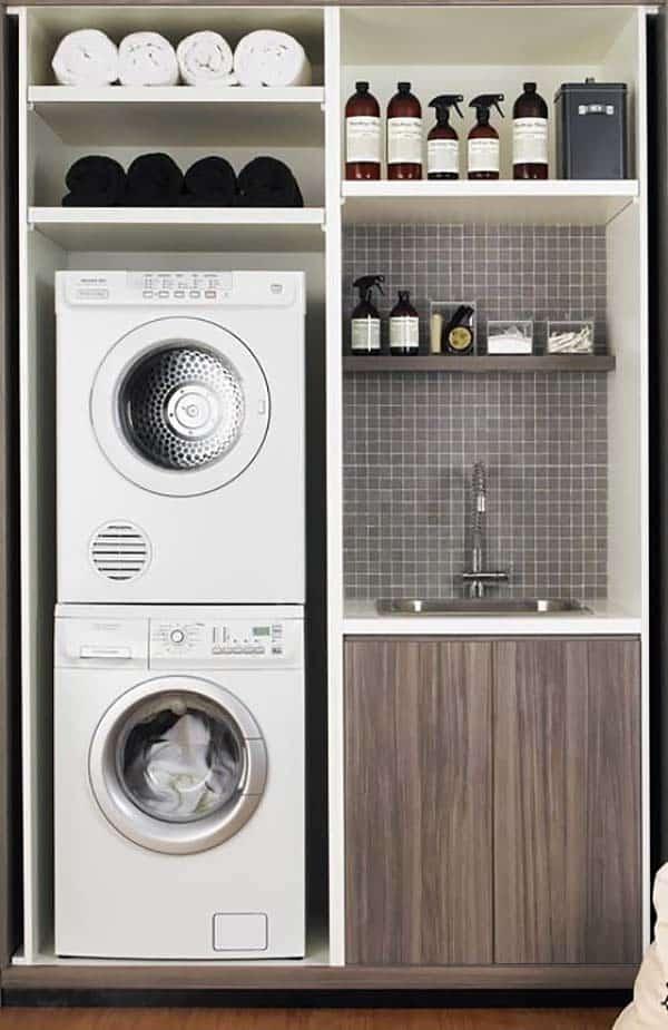 Small Laundry Room Design Ideas-44-1 Kindesign