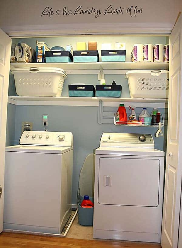 60 Amazingly inspiring small laundry room design ideas on Small Laundry Room Organization Ideas  id=47755