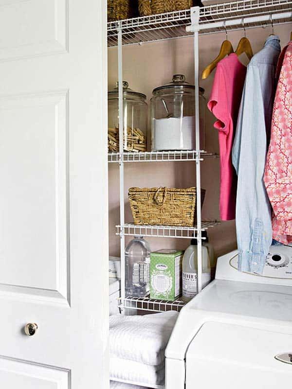 Small Laundry Room Design Ideas-46-1 Kindesign