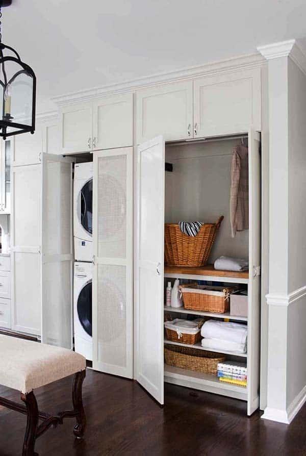 Small Laundry Room Design Ideas-52-1 Kindesign