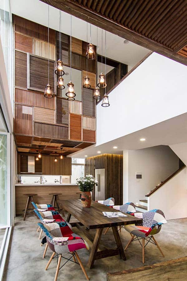 featured posts image for EPV House offers rustic feel with wood clad accents in Vietnam