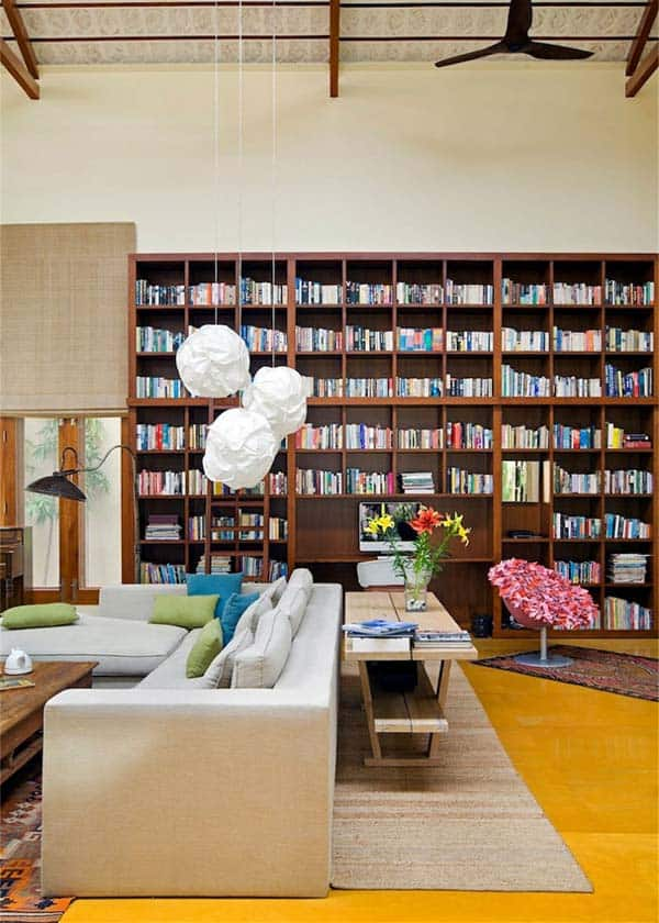 The Library House-Khosla Associates-10-1 Kindesign