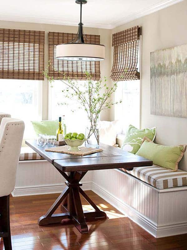 Breakfast Nook Design Ideas 38 1 Kindesign