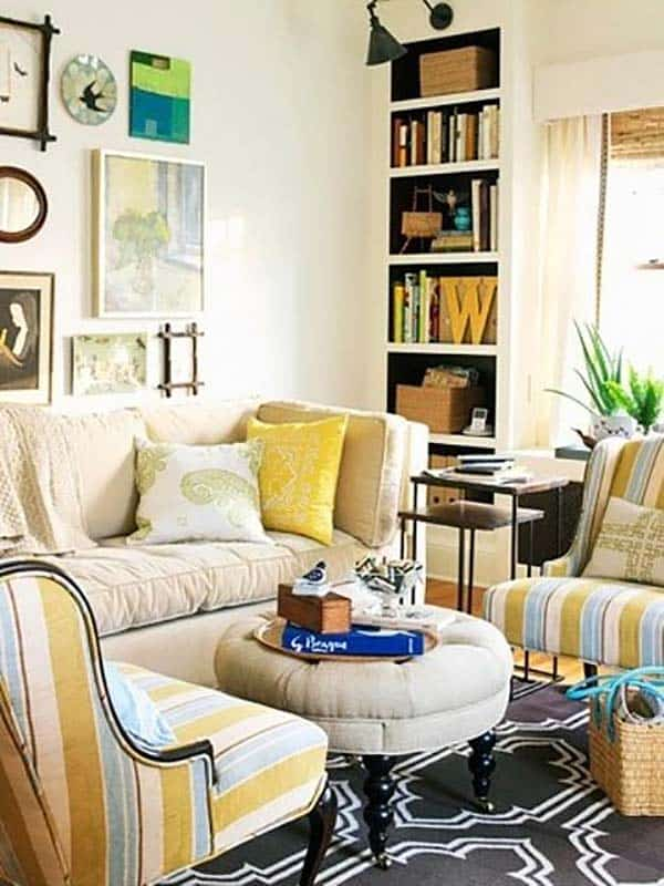 Cozy small living room for Cozy family room designs
