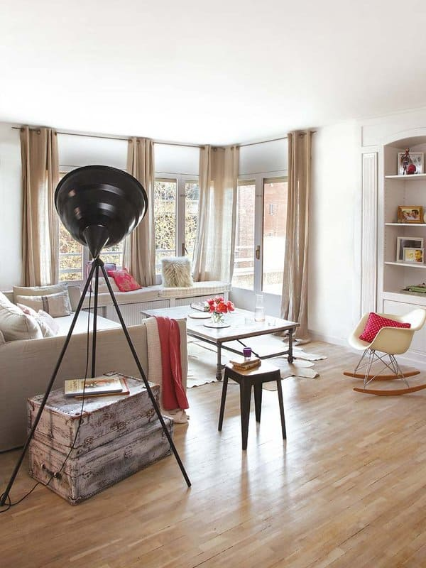 featured posts image for Barcelona flat reveals vintage charm mixed with industrial flair