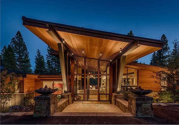 featured posts image for Mountain modern home perfect for entertaining in Martis Camp