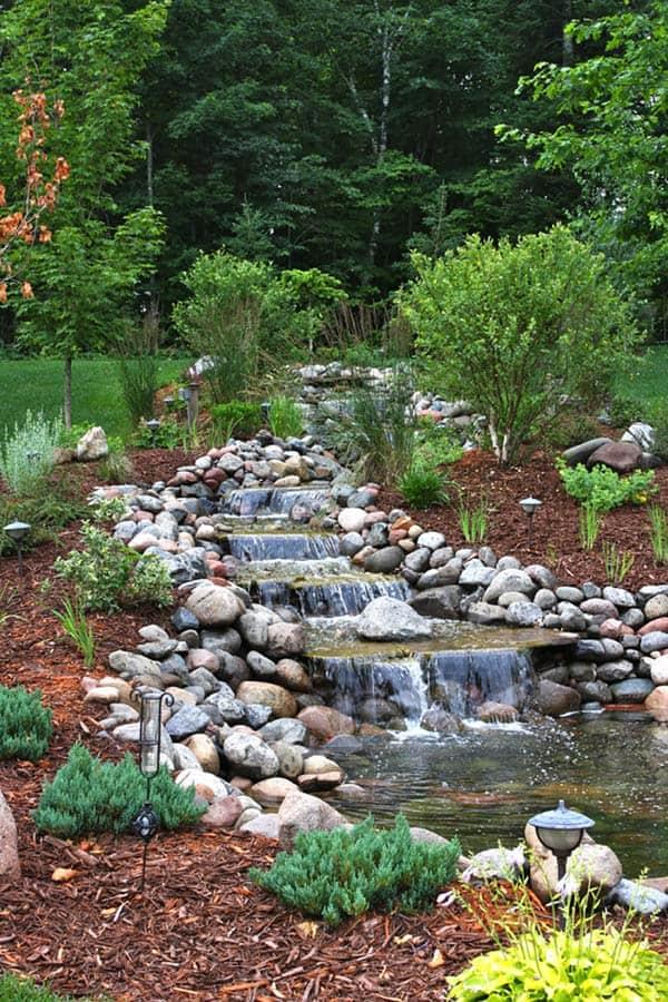 Fabulous Water Garden Waterfall