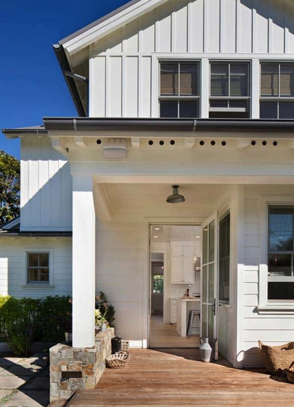bright and airy modern farmhouse style in menlo park