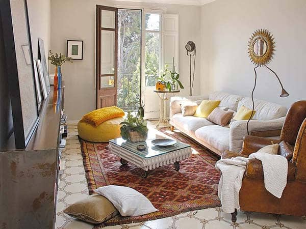featured posts image for Stylish apartment reform exuding eclectic charm in Barcelona