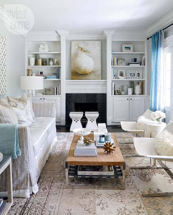 featured posts image for House Tour: Chic seaside inspired interiors in Oakville, Ontario