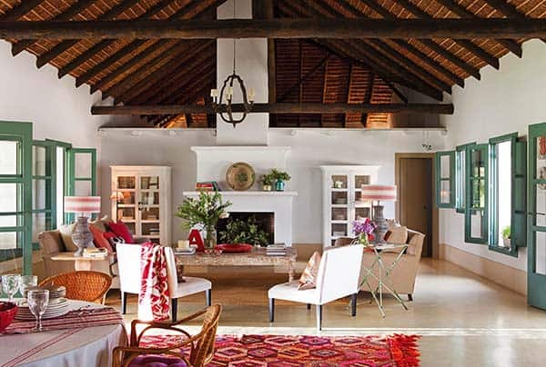 featured posts image for Colorful Andalusian Farmhouse nestled in a Spanish olive grove