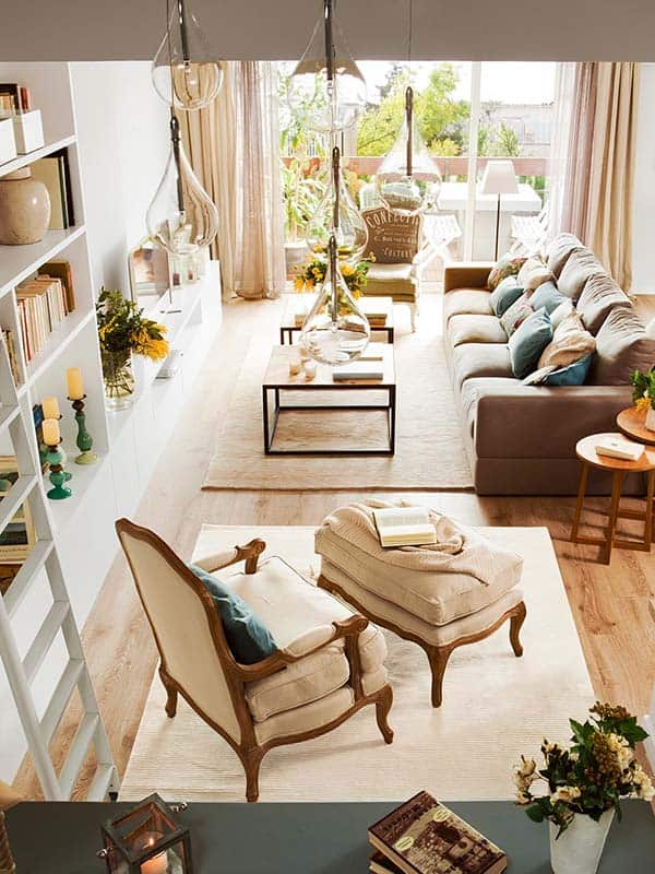 featured posts image for Barcelona triplex showcasing bright and serene interiors