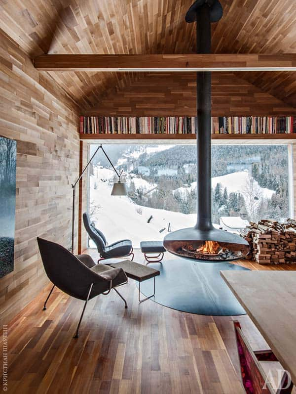 Modern Mountain Chalet-Otmar Prenner-03-1 Kindesign