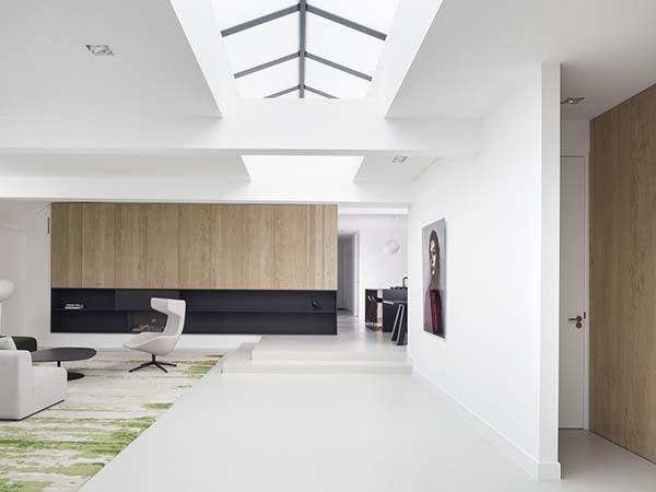 Garage Transformed Into Sleek Modern Home In Amsterdam