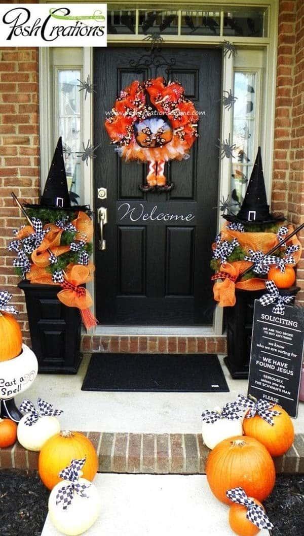Outdoor Halloween Decorating Ideas-03-1 Kindesign