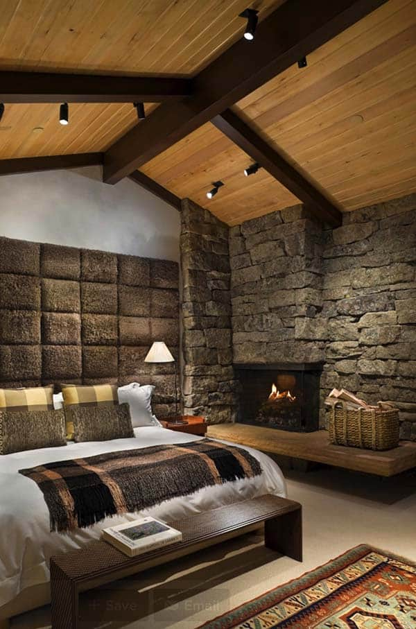 rustic bedroom design ideas | 45 Absolutely spectacular rustic bedrooms oozing with warmth