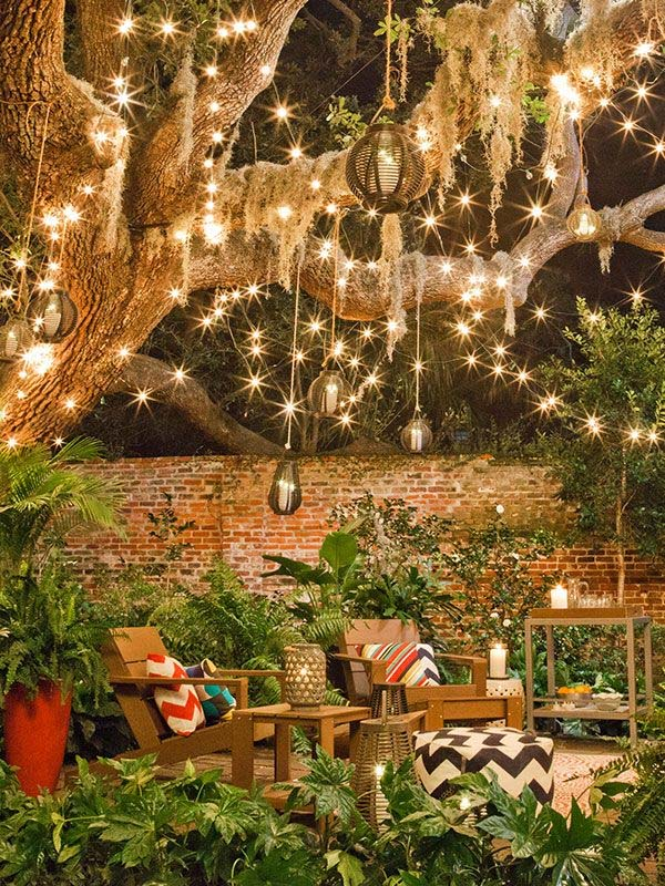 String Lights Houses : 45 Inspiring ways to decorate your home with string lights