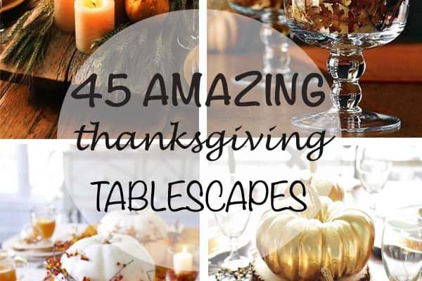 featured posts image for 47 Fabulous DIY ideas for Thanksgiving table decor