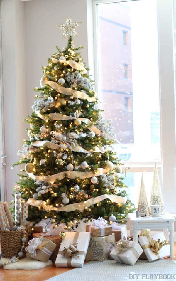 Christmas Tree Decoration Ideas-031-1 Kindesign
